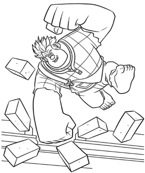 coloring pages wreck it ralph disney wreck it ralph coloring pages