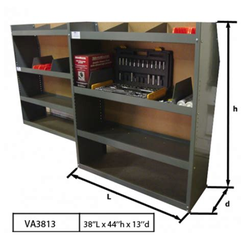 transit connect shelving set of 2 ford transit connect shelving 38 quot lx44 quot hx13 quot d