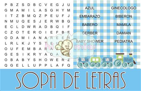 sopa de letras de baby shower para imprimir gratis apexwallpapers juegos para baby shower bingo pelautscom