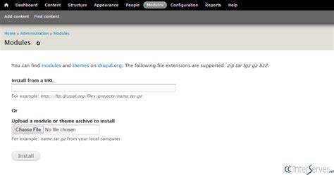 drupal theme hook in module how to install drupal modules interserver tips