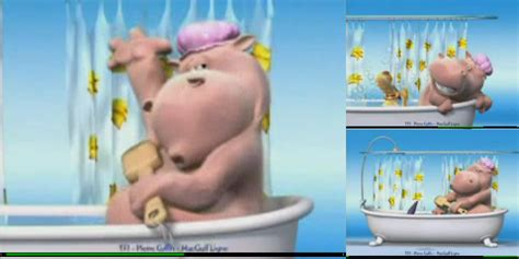 Hippo In Bathtub by Semanticmetadata Net