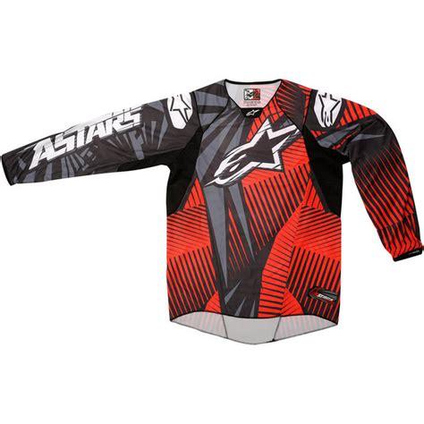 alpinestars motocross jersey alpinestars 2012 techstar motocross jersey motocross