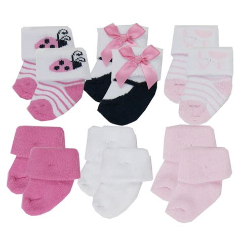 baby socks newborn newborn baby socks i baby socks 6 pack in socks