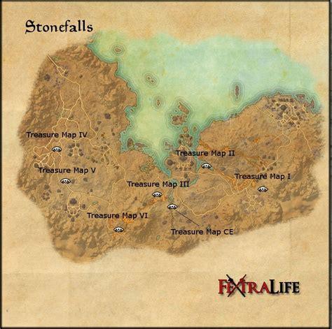 stonefalls ce treasure map stonefalls elder scrolls wiki
