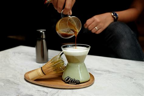 resep kopi staresso matcha latte majalah otten coffee
