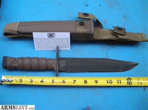marine issued knife armslist for sale brand new ontario knife company usmc