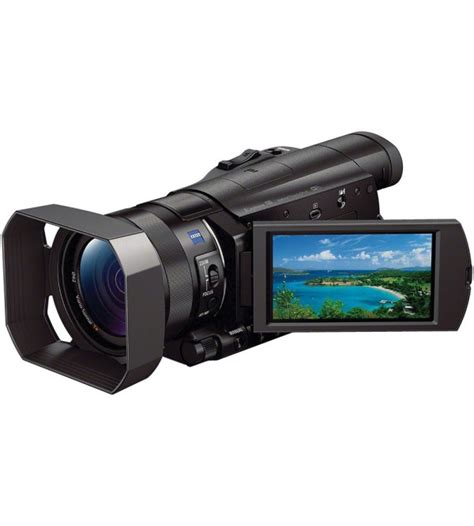 Kamera Profesional Sony sony professional fdr ax100e 4k ultra hd camcorder