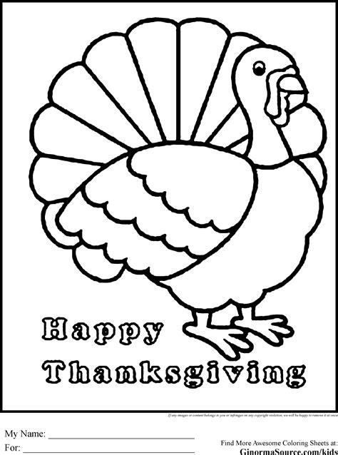 happy thanksgiving coloring pages turkey coloring pages