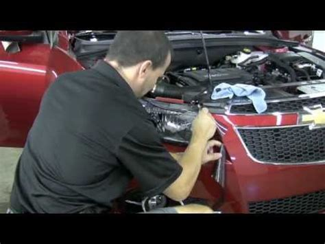 tinting headlights on a chevy cruze youtube