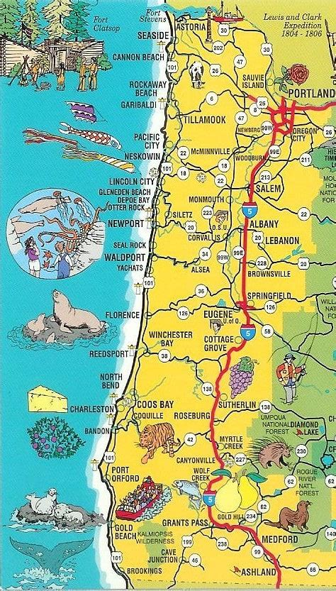map of oregon and california coast oregon coast 12 reasons the oregon coast is even better