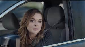 esurance commercial actress sorta marge lindsay lohan spoofs new esurance commercial on jimmy