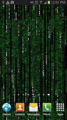 matrix  wallpaper apk   android