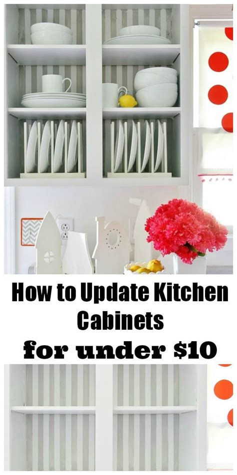 How To Update Kitchen Cabinets For Under 10 And A How To Update Kitchen Cabinet Doors