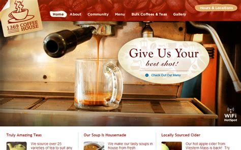 house websites 33 web design trends in caf 233 and restaurant layouts spyrestudios