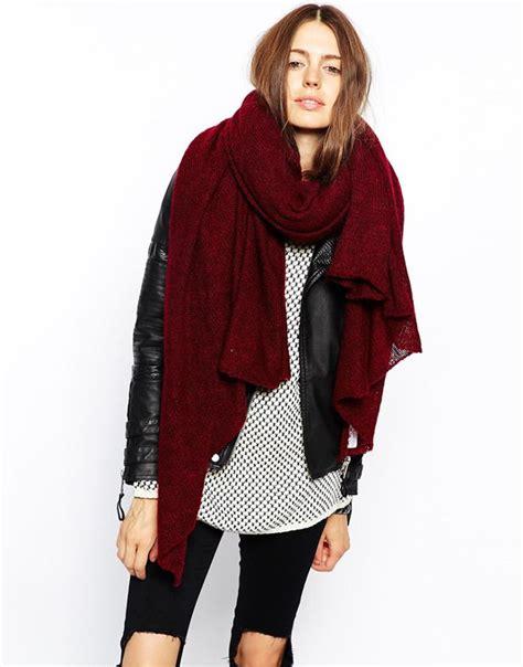 oversized knit scarves 50 13 amazing oversized scarves whowhatwear