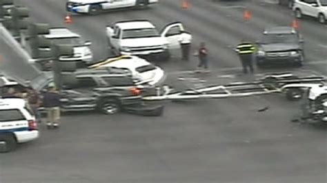 boat trailer parts las vegas boat knocked off trailer part of 3 vehicle accident at