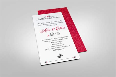 Wedding Card Hsn Code by Invitation Letter Psd Image Collections Invitation