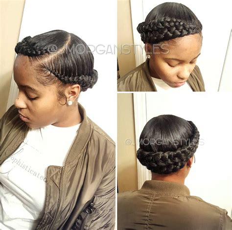halo braid american hair dope double halo braid via jmorganstyles read the article