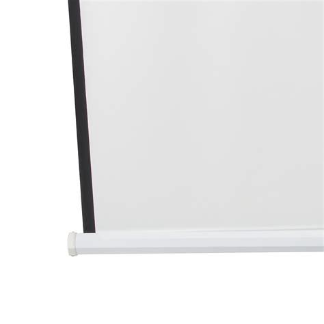 Simple Screen Tripod 120 4 3 Matte White 120 quot tripod portable projector projection screen 4 3 matte white foldable stand ebay