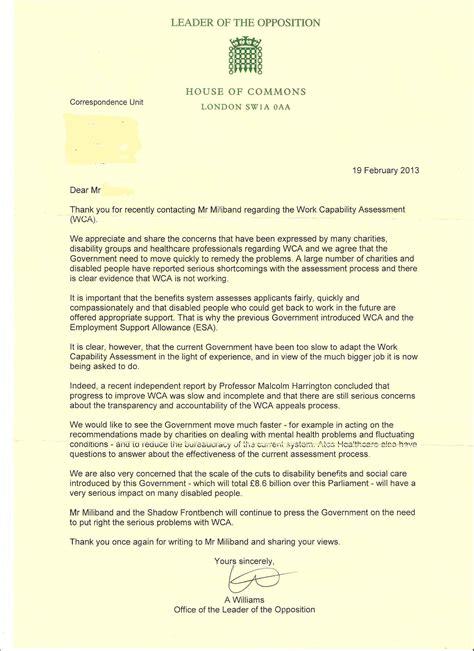 Sle Letter Lack Of Response Sle Business Letter Esa Letter Template