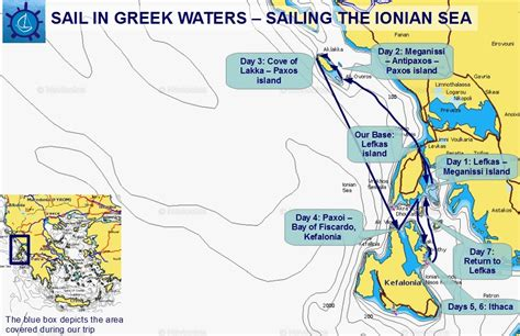 sailing greece routes lefkas paxoi kefalonia and ithaca 1 week sailing in the