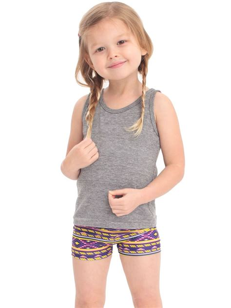 young girl models shorts best little dance and gymnastics shorts for girls kid