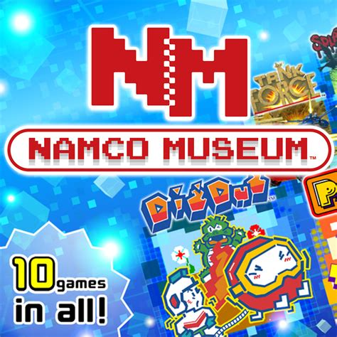 namco console namco museum nintendo switch jeux nintendo