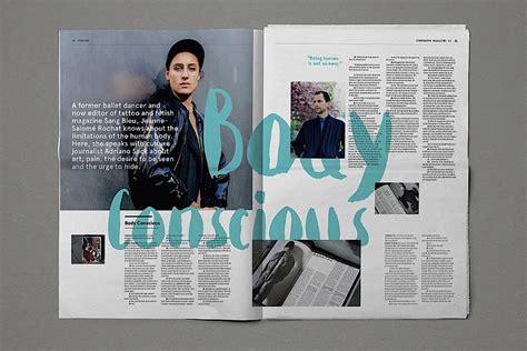 design inspiration magazines editorial design inspiration companion magazine