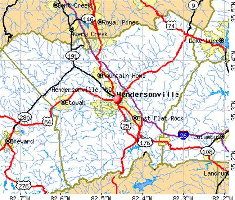 hendersonville carolina map hendersonville carolina nc 28792 profile