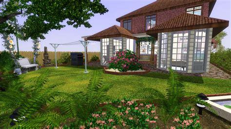 Mod The Sims A Friendship Home Sims 3 Backyard Ideas