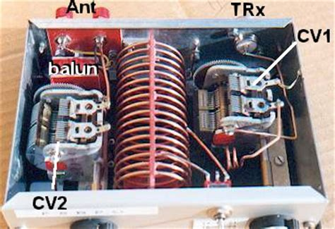 Réalisation Cv by Antenna Tuner Qrp For Antenne L 233 Vy I1wqrlinkradio