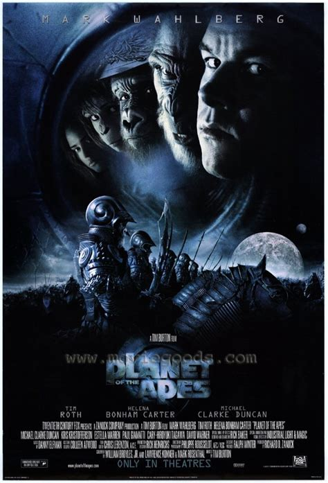 Planet Apes 2001 Full Movie Planet Of The Apes Movie Posters From Movie Poster Shop