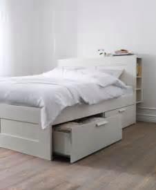 Storage Bed Frame Ikea Brimnes Bed Frame With Storage White Ikea Beds With