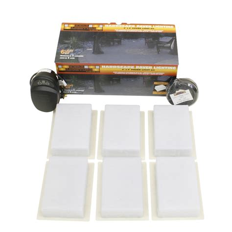 Landscape Light Kit Shop Kerr Lighting 6 Light Low Voltage Path Lights Landscape Light Kit At Lowes