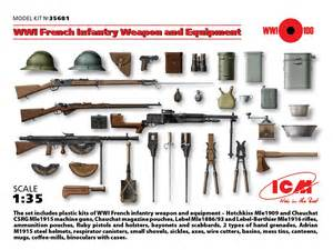 Wwi french infantry weapon and equipment 187 icm holding plastic