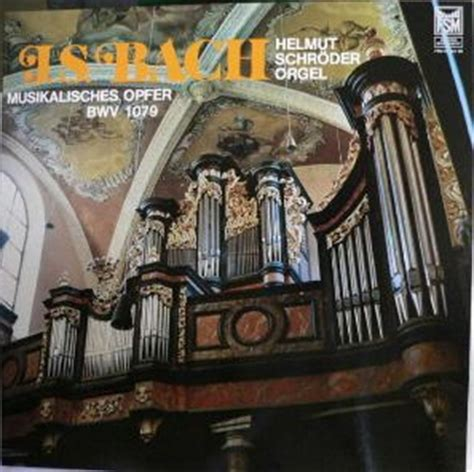 bach musikalisches opfer the musical offering l musical offering bwv 1079 discography part 5 complete