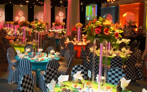Event Decorations And Accessories by Gala Decor On Casino Stage