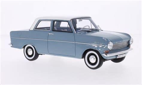 opel kadett a opel kadett a blau weiss 1962 mcw modellauto 1 18 kaufen