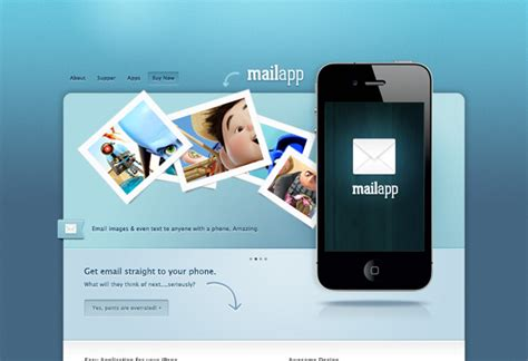Well Designed Psd Website Templates For Free Download Mail App Templates
