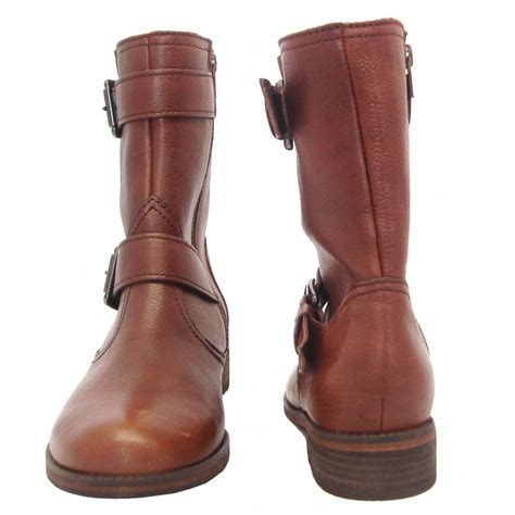brown womans boots gabor boots womens mid calf boots in brown mozimo
