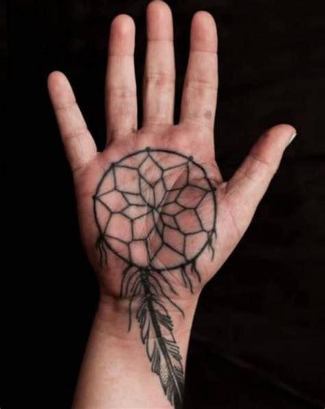 tattoo on hand dream dream catcher hand tattoo