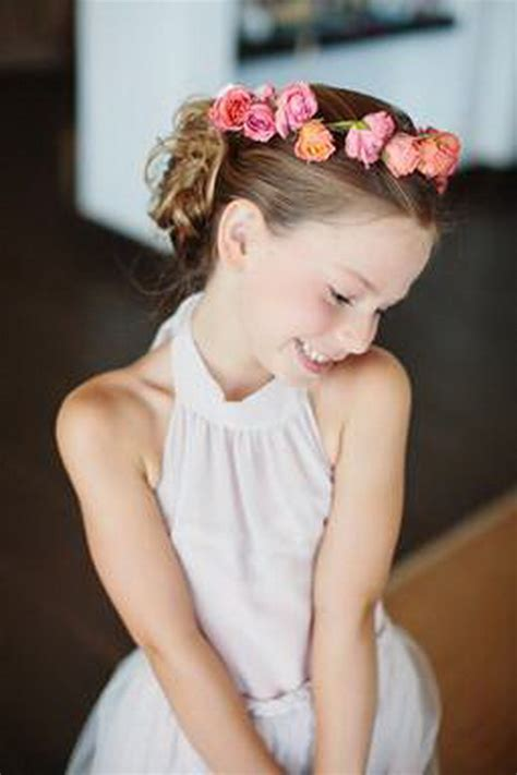bridal hairstyles for children hairstyles for weddings for kids different wodip com