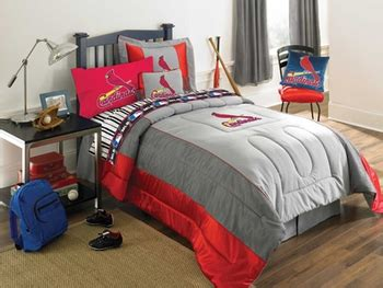authentic kids bedding major league baseball kids bedding st louis cardinals
