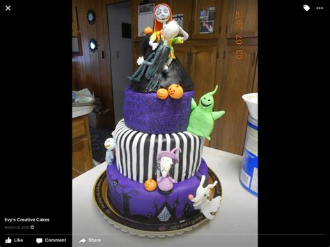 Nightmare Before Baby Shower Cake by Nightmare Before Cakecentral