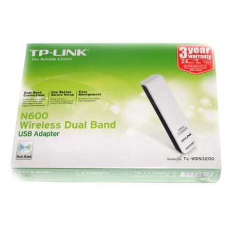 Sale Tp Link Tl Wdn3200 N600 Wireless Dual Band Usb Adapter tp link tl wdn3200 dual band wireless n usb adaptor 5ghz and 2 4ghz