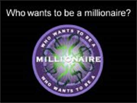 Esl English Powerpoints Who Wants To Be A Millionaire General Quiz Who Wants To Be A Millionaire Powerpoint With Sound