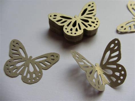 Paper butterflies 50 die cut butterflies, die cuts