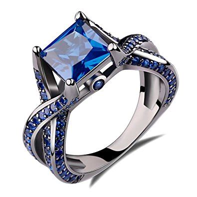 Picture Of A Blue Ring by Sapphire Engagement Rings Www Pixshark Images