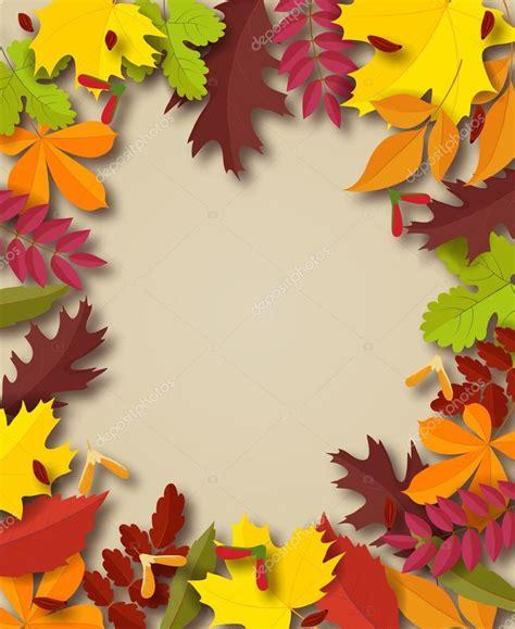 cornice autunno priorit 224 bassa di autunno cornice di testo decorato con