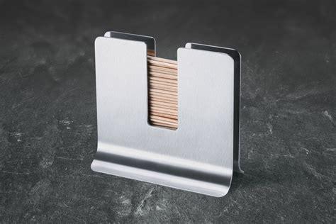 toothpick holders sleek metal toothpick holder interior design ideas